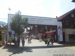 Swiss Open take place in the Centre of the town.