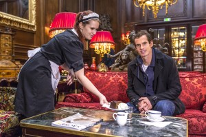 Andy Murray visited Cafè Sacher in Vienna