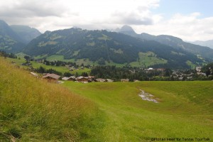 Great scenery around Gstaad