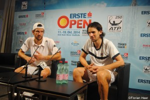 Jürgen Melzer and Philipp Petzschner were more than happy afterwards