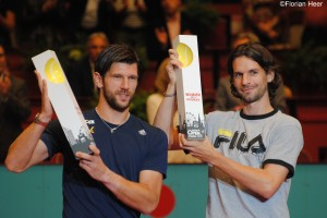 Jürgen Melzer and Philipp Petzschner took the doubles title