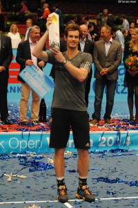 Andy Murray lifted the trophy in Vienna in 2014