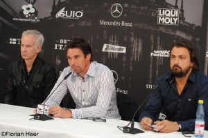 Press Conference with John McEnroe, Michael Stich and Henri Leconte