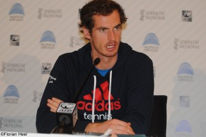 Andy Murray in the press conference