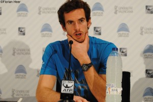 Andy Murray during press conference