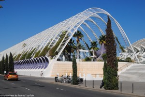 L'Umbracle - a landscaped walk with plant species indigenous to Valencia