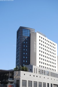 Confortel Aqua 4 was the official player's Hotel in 2013 and 2014, located right next to the venue