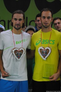 Ruben Bemelmans and Tim Pütz - winner and runner - up
