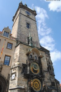 Prague Astronomical clock from the 15th century
