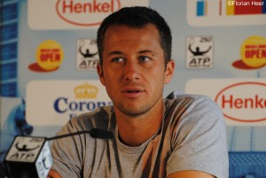Philipp Kohlschreiber spoke to the media after the match
