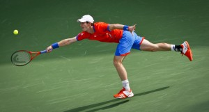 Andy Murray in Dubai 2012