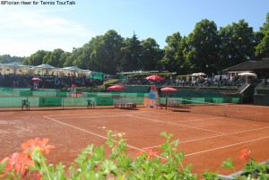 The ATP Challenger in Fürth, which takes place in June, is one of the lowest category