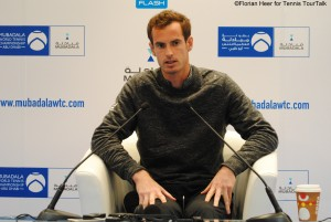 Andy Murray in press conference