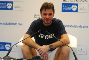 Stan Wawrinka in press conference