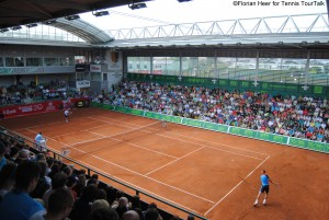 The ATP Challenger in Prostejov is one of the highest category and its centre court has even a retractable roof