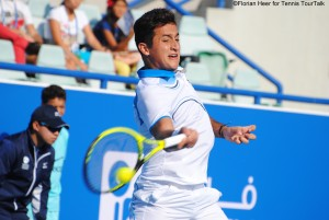 Nicolas Almagro in his second match after his injury