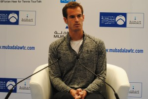Andy Murray after the match