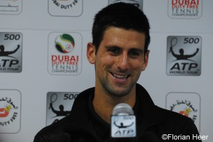 Novak Djokovic lost last year in the semis against Roger Federer
