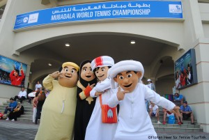 Mubadala World Tennis Championships at Zayed Sports City