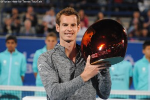 After 2009 Andy Murray wins his second title in Abu Dhabi