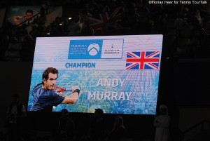 Andy Murray is the champion in Abu Dhabi 2015