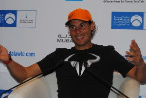 Rafael Nadal will go on to Doha next playing his first ATP tournament of the season