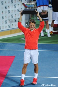 Roger Federer claimed the title in 2014 against Tomas Berdych