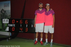 Florian and Fabian Fallert gained their first doubles title as a team