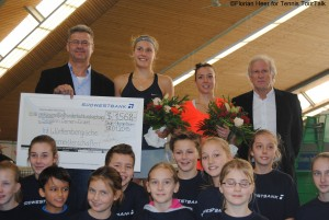 Antonia Lottner gained her fifth ITF title
