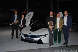 Tommy Haas unveiled the BMW i8 in Munich earlier this year