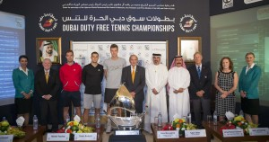 The ATP draw ceremony in Dubai took place this midday