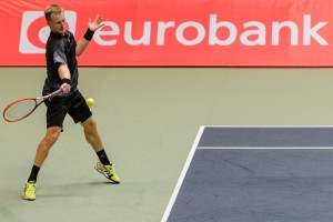 Andriej Kapas is one of two reamaining players from Poland in the draw in Wroclaw