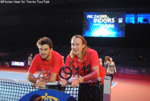 Draganja and Kontinen won their first title together