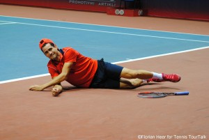 Guillermo Garcia-Lopez was more than happy to win the final