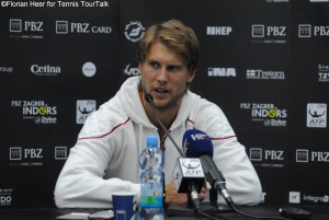 Andreas Seppi in the final press conference