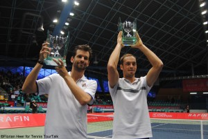 Philipp Petzschner and Tim Pütz claimed their first team title
