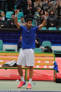 Farrukh Dustov emerged victorious in 70 minutes