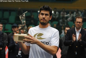 Farrukh Dustov gained his fourth ATP Challenger title winning Wrolaw Open