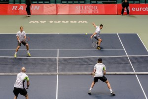 Dancevic and Kapas made it into the doubles final beating Meffert and Moser