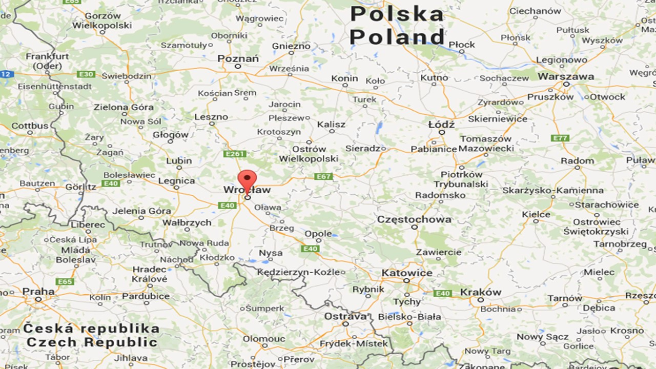 Map Of Wroclaw Poland Travelogue   Wroclaw, Poland   Tennis TourTalk