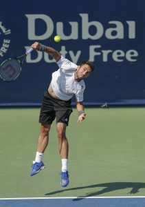 Marsel Ilhan caused the upset of the day