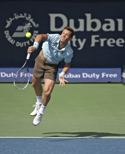 Tomas Berdych also had to face some difficulties in his opening match