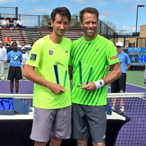 First time winning Team Sergiy Stakhovsky and Robert Lindstedt