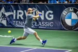 Marcos Baghdatis advanced to second round in Irving