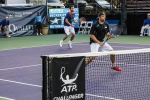 Becker and Petzschner advanced to the next round (photo: Tessa Kolodny)