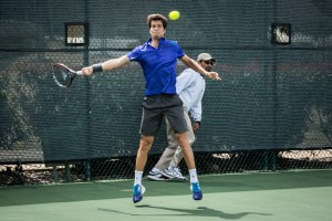 Aljaz Bedene in Irving on Thursday (photo: Tessa Kolodny)