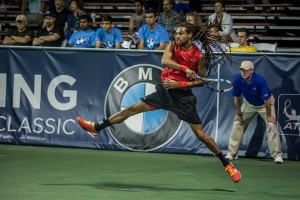 Dustin Brown lost his third match against Baghdatis