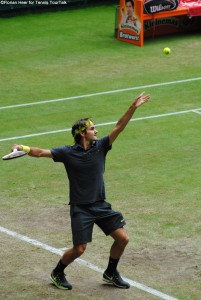 Roger Federer has a lifetime contract with the Gerry Weber Open in Halle