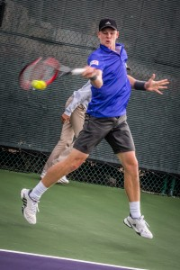 Kyle Edmund took the ATP Challenger title in Hong Kong earlier this year (photo: Tessa Kolodny)