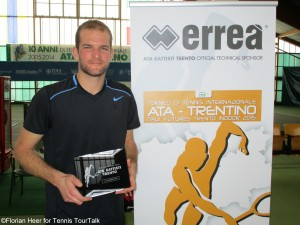 Philip Bester captured his seventh ITF career title